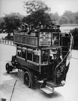 Ammunition Bus, First World War