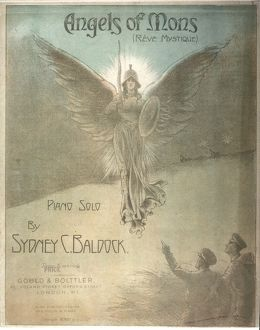 Angels of Mons, cover design for piano music