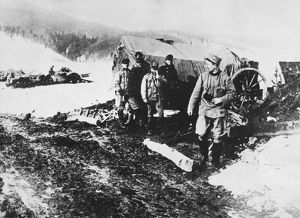 Austrians on the Carpathian Front