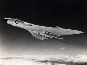 Avro Vulcan B2 armed with a Blue Steel stand-off bomb