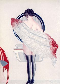 BATHING/IN BATHROOM/1926