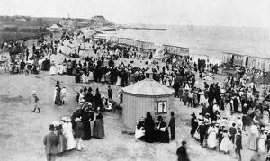 Beach scene, Walton-on-the-Naze, Essex