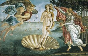 Birth of Venus. Alessandro (Sandro) Botticelli