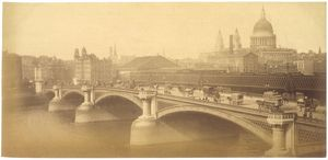 BLACKFRIARS BRIDGE C1890