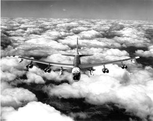 Boeing B-52G Stratofortress carrying two North American ?