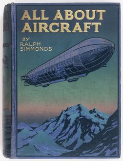 Book cover design, All About Aircraft