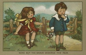 None but the brave deserve the fair by Florence Hardy