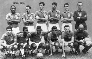 Brazilian Football Team of the 1958 World Cup