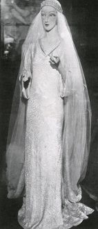 Bridal gown of the Duchess of Kent