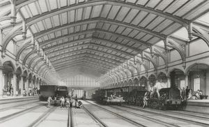 Bristol Station, The GWR by J C Bourne