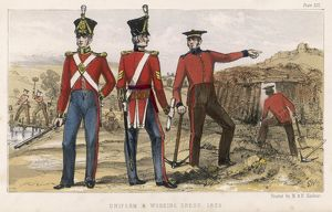BRITISH 19C SAPPERS 1825