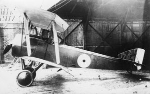 British Sopwith Pup biplane, WW1