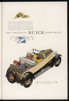 BUICK FOR 1927
