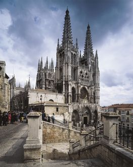 Burgos Cathedral of St. 1221-1568. SPAIN. CASTILE