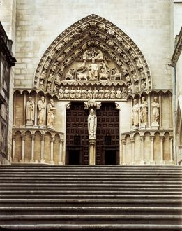 Burgos Cathedral of St.