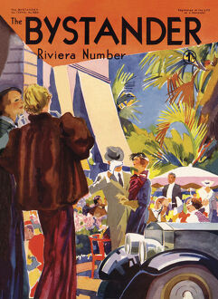 mary evans calendar 2020/bystander riviera number cover 1935