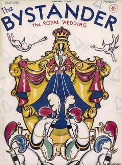 The Bystander Royal Wedding Number front cover