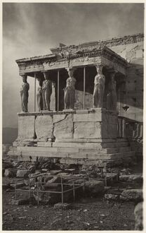 Caryatid Porch of the Erechtheion, Acropolis, Athens, Greece