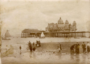 new images grenville collins collection/central pier morecambe lancashire