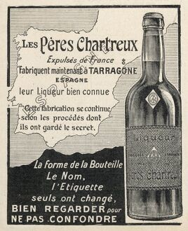 CHARTEUSE ADVERT 1906