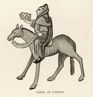 CHAUCER, CLERK OF OXFORD