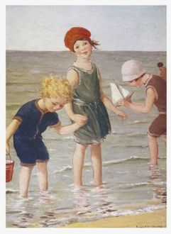 CHILDREN/PADDLING 1922
