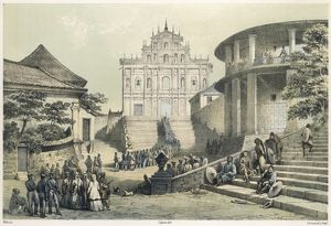 CHINA/MACAO/CONVENT 1850