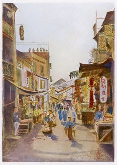 CHINA/MACAO STREET SCENE