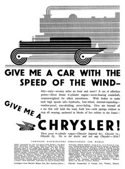 CHRYSLER ADVERT 1929 - 2