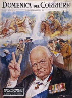CHURCHILL/DOMENICA 1965