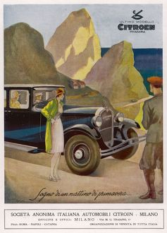 CITROEN ON TOUR 1930