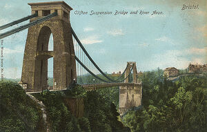 Clifton Suspension Bridge over the River Avon, Bristol