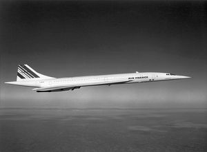 Concorde F-BVFA in Air France markings