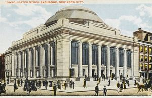 Consolidated Stock Exchange, New York