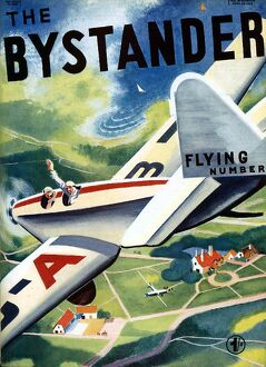 Front cover from The Bystander 1936.