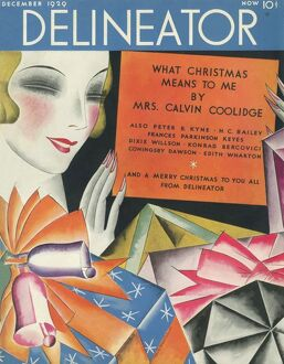 Delineator front cover December 1929
