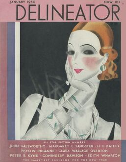 Delineator cover January 1930