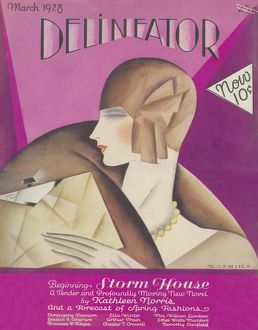Delineator cover, March 1928