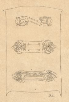 Design for Metalwork in celtic style