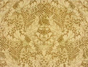 Design for Wallpaper in beige and cream