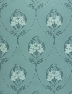 Design for Wallpaper in blue