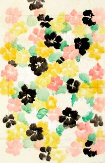 Design for Wallpaper with flowers