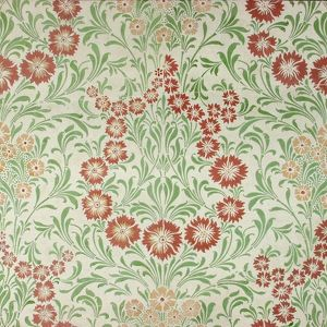 Design for Wallpaper in green and brown