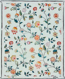 Design for Wallpaper with small flowers