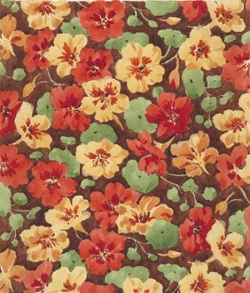 Design for Woollen Dress Print with flowers