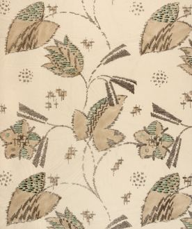 Design for Woven Textile in beige and green