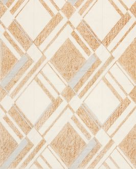 Design for Woven Textile in beige, grey and cream