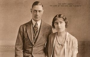 Duke of York - Lady Elizabeth Bowes-Lyon - Engagement Photo