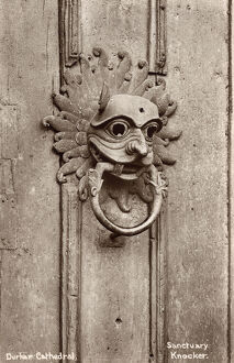 Durham Cathedral - The Sanctuary Knocker
