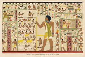 EGYPTIAN TOMB PAINTING